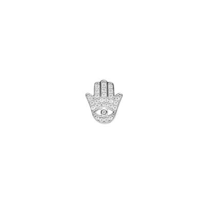 Cubic Zirconia hand of Fatima