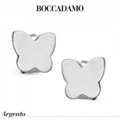 Butterfly-shaped stud earrings