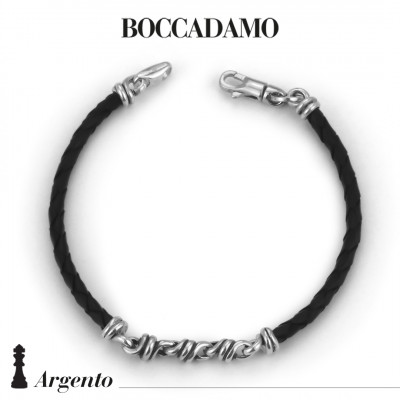 Black scooby do bracelet with dodo links
