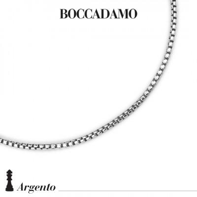 Half-round medium Venetian mesh necklace