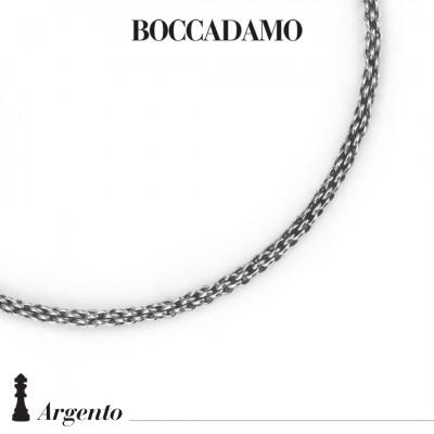 Basket mesh necklace