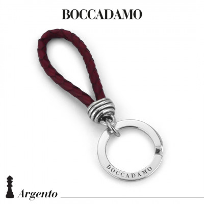 Scooby do red keyring with knot
