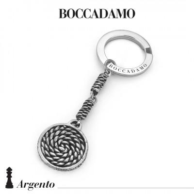 Circular rope keychain