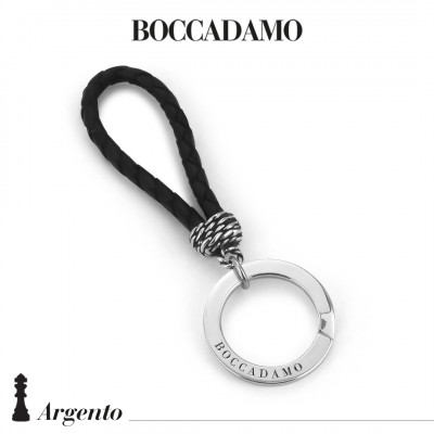 Scooby do black keychain with ropes