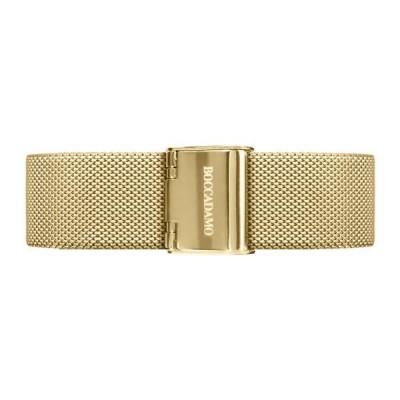 Cinturino in acciaio mesh dorato