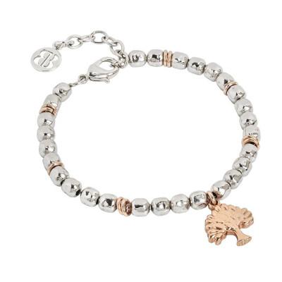 Bracelet beads with tree of life rosato