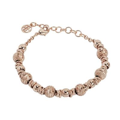Bracelet rosato with codronate shirts and diamond balls
