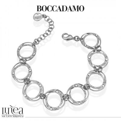 Bracelet with circular modules with Swarovski