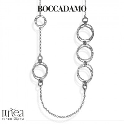 Chanel necklace with circular Swarovski decorations
