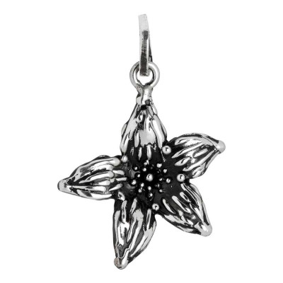 Charm with lilium flower