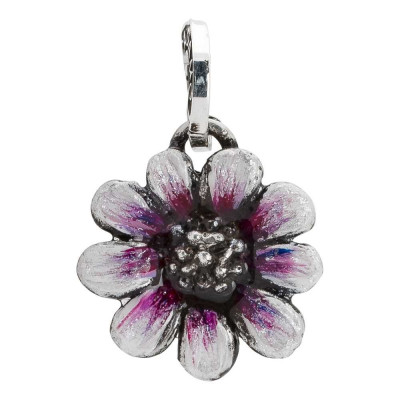 Charm with pink daisy