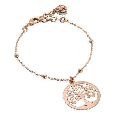 Tree of life rosé bracelet