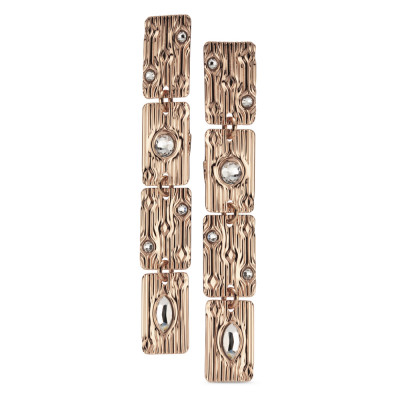 Modular earrings with Swarovski crystal