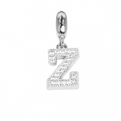 Charm with letter Z in zircons