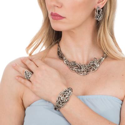 Marina bracelet with marine decoration