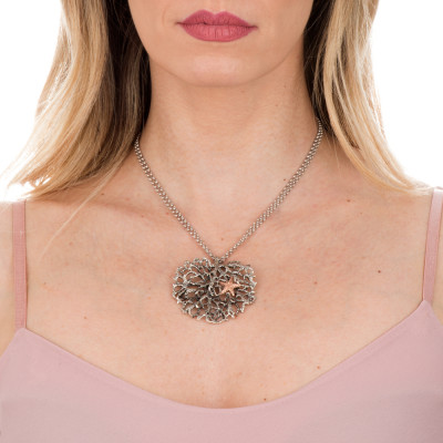 Marina long necklace with pendant