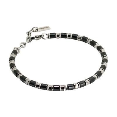 Bracelet with black ceramic