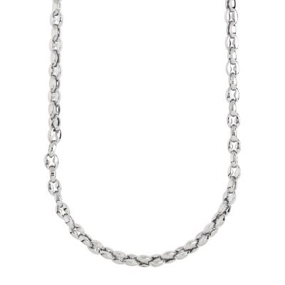 Large marine link necklace