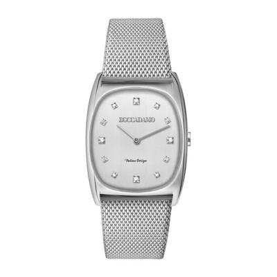 Wristwatch woman with rectangular quadrant
