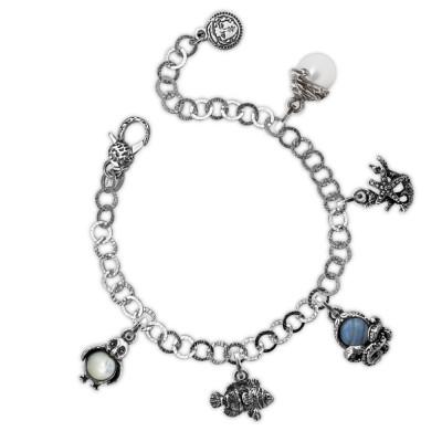 Sea creatures modular bracelet