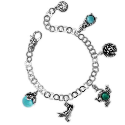 Forest theme modular bracelet