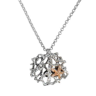 Marina necklace with pendant