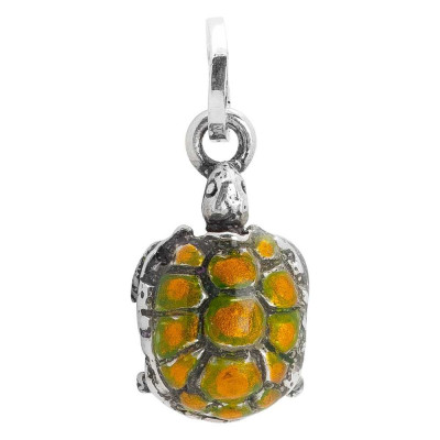 Hand painted turtle charm