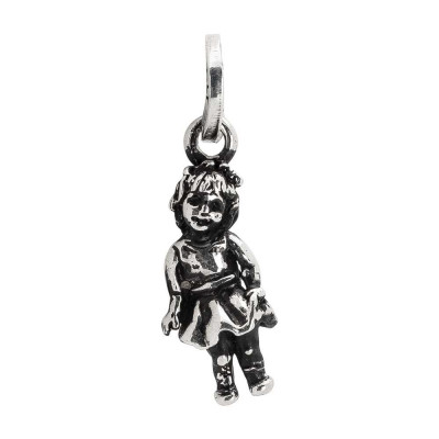 Charm with child's figure
