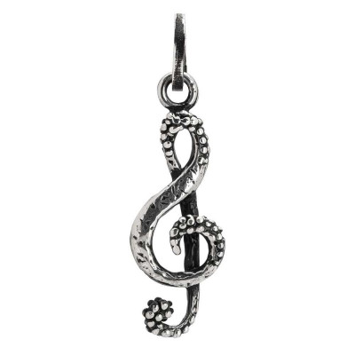 Charm with a treble clef
