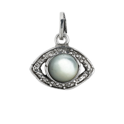 Charm eye of Horus and mother of pearl