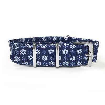 Sartorial strap fantasy blue floral