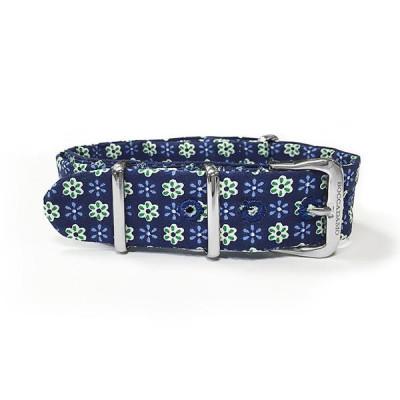 Sartorial strap fantasy green floral