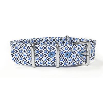 Sartorial strap reason optical blue and white