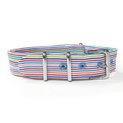 Sartorial strap to narrow rows multicolor