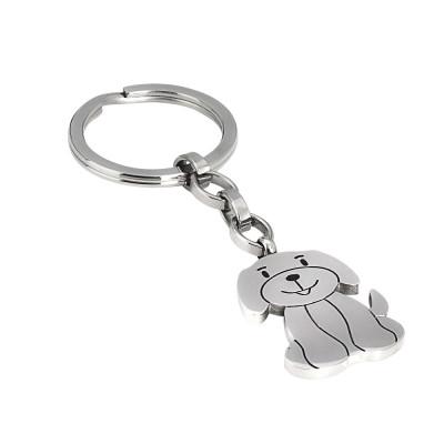Keychain with puppy dog