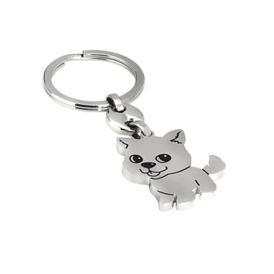 Keychain with kitten