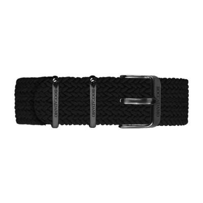 Cinturino in nylon Perlon nero