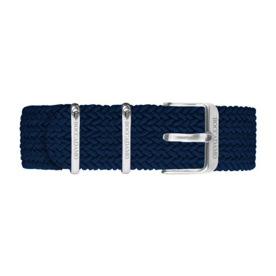 Cinturino in nylon Perlon blu navy