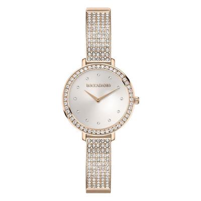 Wristwatch woman with strap rosato and Swarovski