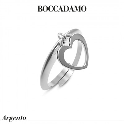 Ring with openwork heart