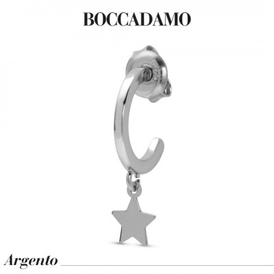 Mono earring with star