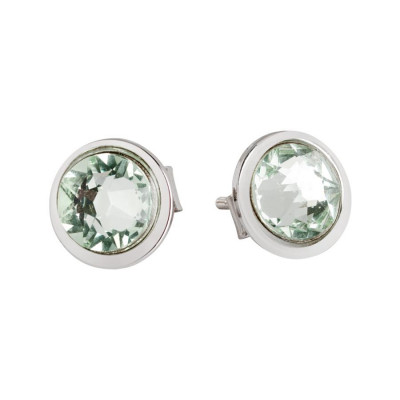 Earrings rosati lobe with Swarovski Crystal chrysotile
