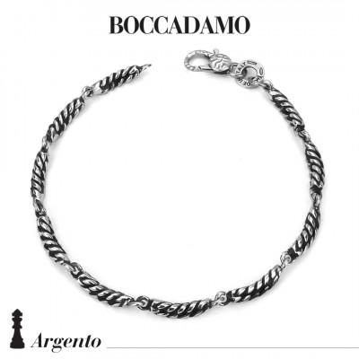 Silver twisted wire bracelet