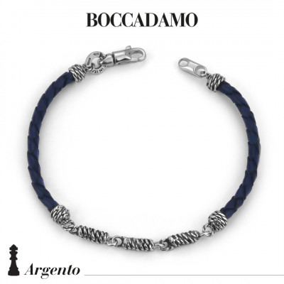 Blue scooby do bracelet with rope links