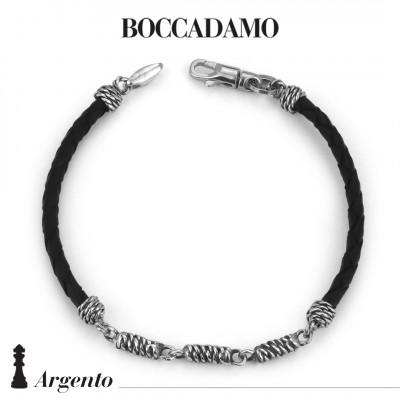 Black scooby do bracelet with rope links