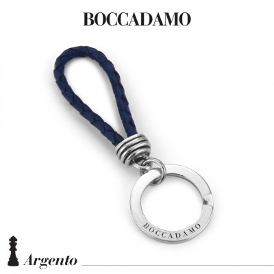 Scooby do blue keychain with knot