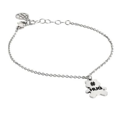 Bracelet with bear charm