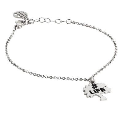 Bracelet with tree of life charm