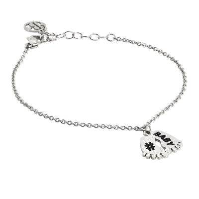 Bracelet with charm feet