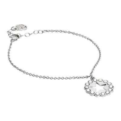 Bracelet with star charm and Swarovski
